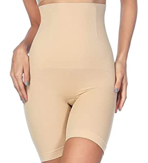 bcc2b6cb0532c AtRenty Tummy Control Shapewear Shaper Bodysuit Slimming High Waist Panties  Seamless Briefs for Womens