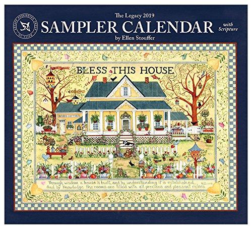 2019 Wall Calendar, Sampler Calendar