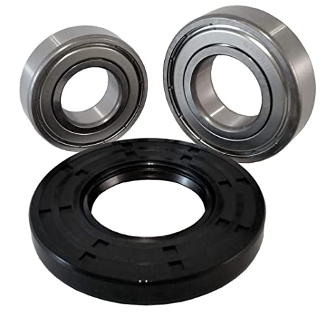 Nachi Front Load Samsung Washer Tub Bearing and Seal Kit Fits Tub  DC97-17040 (5 year replacement warranty and full HD