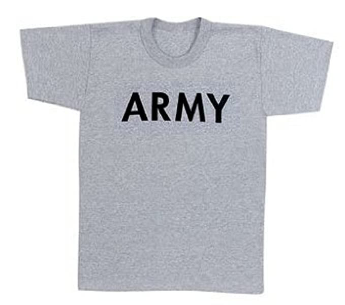 Image Unavailable. Image not available for. Color  Kids ARMY Printed T-Shirt  ... 9da12b1085c