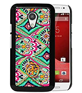 Custom Luxury Cover Case With Tory Burch 15 Black Moto G (2nd generation) Case