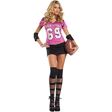 Sexy football girl costume