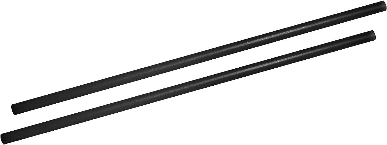 Fackelmann - Pajitas Grandes (500 Unidades, 8 mm), Color Negro