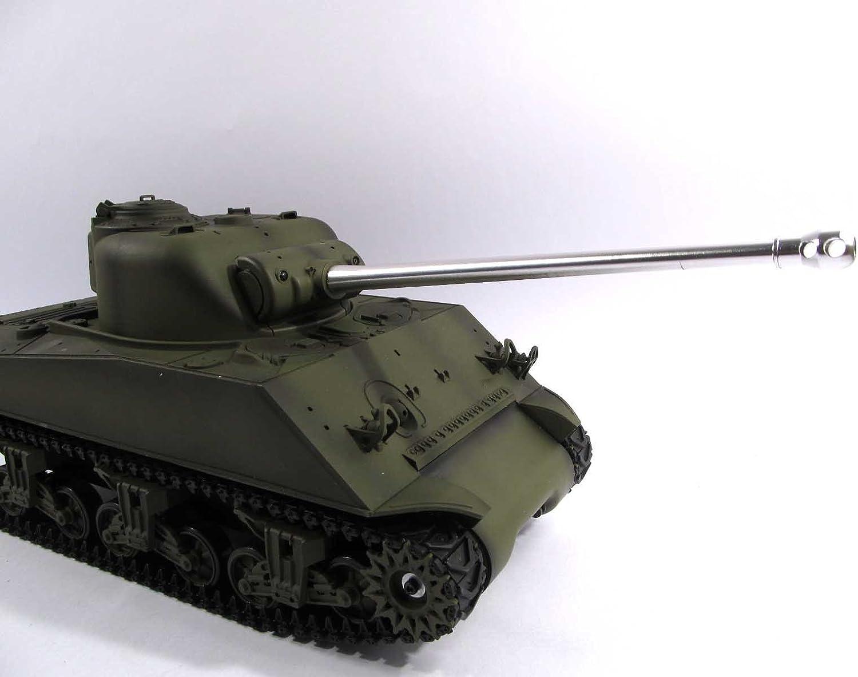 US Stock Mato 1//16 MT200 Sherman Firefly Barrel Metal BB for Henglong Sherman