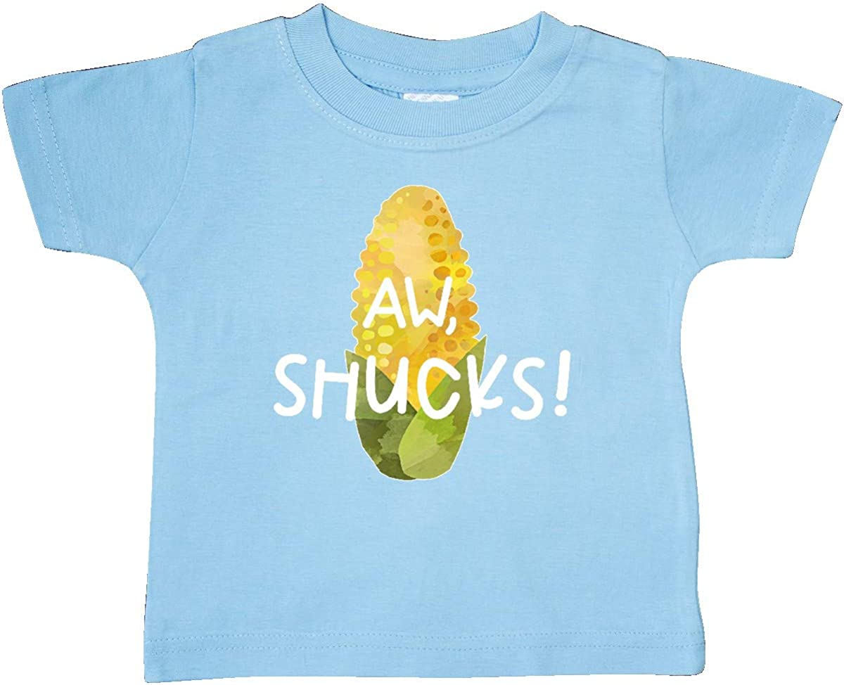 inktastic Aw Shucks Corn on The Cob Humor Baby T-Shirt
