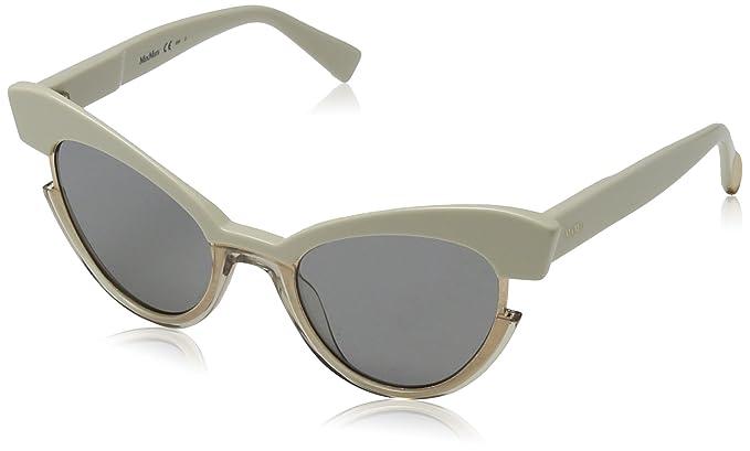 Max Mara MM Ingrid IR SD9 49 Gafas de sol, Beig Crystal/Gy ...