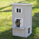 Elite Cat Condo Outdoor or Indoor Cat House