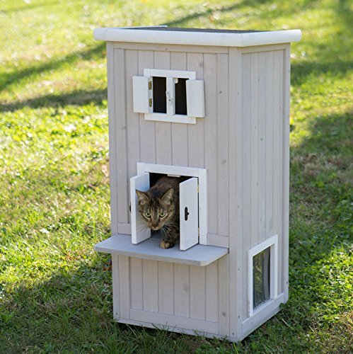 Elite Cat Condo Outdoor or Indoor Cat House