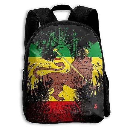 B-Dream Lion Rasta - Mochilas para la Escuela, diseño de Bandera Nacional para