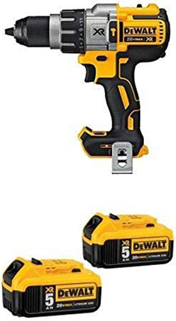 """Drill Driver NEW DEWALT DCD996B 20V 20 Volt Max XR Li-Ion 1//2/"""" Hammer Drill"""