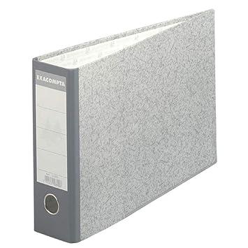 Exacompta 53310e de archivadores de palanca (papel mármol gris formato horizontal ancho de 7 cm 24 x 37 cm): Amazon.es: Oficina y papelería