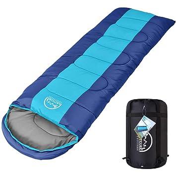 LATTCURE Saco de Dormir para Adultos Saco de Dormir Profesional al Aire Libre Seque el Frío