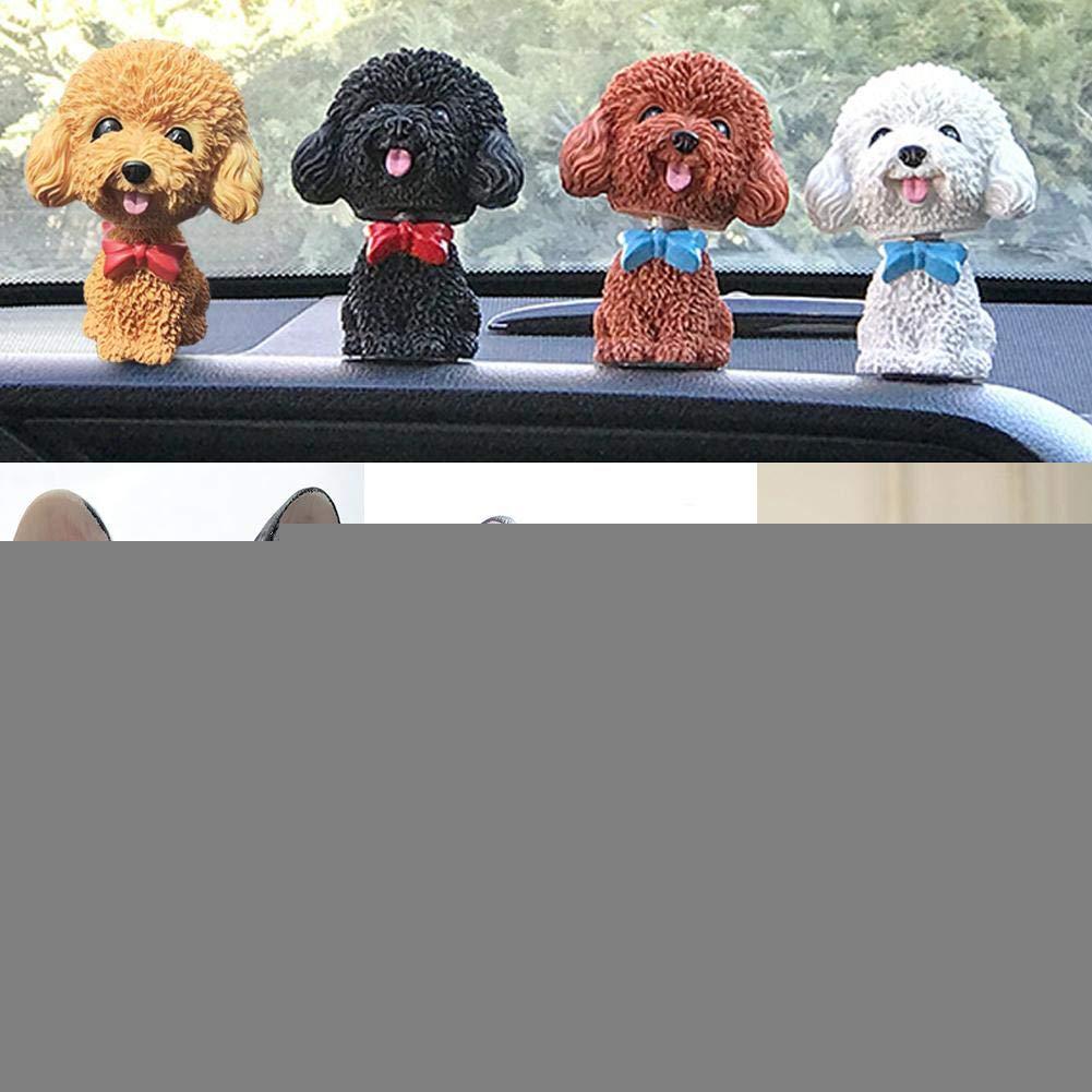 Auto Ornamenti Artigianato Car Interior Simulazione cruscotto Accessori Interni Auto//novit/à Decorazione Ufficio boastvi Auto agitazione Testa Bobble Head Dog Doll