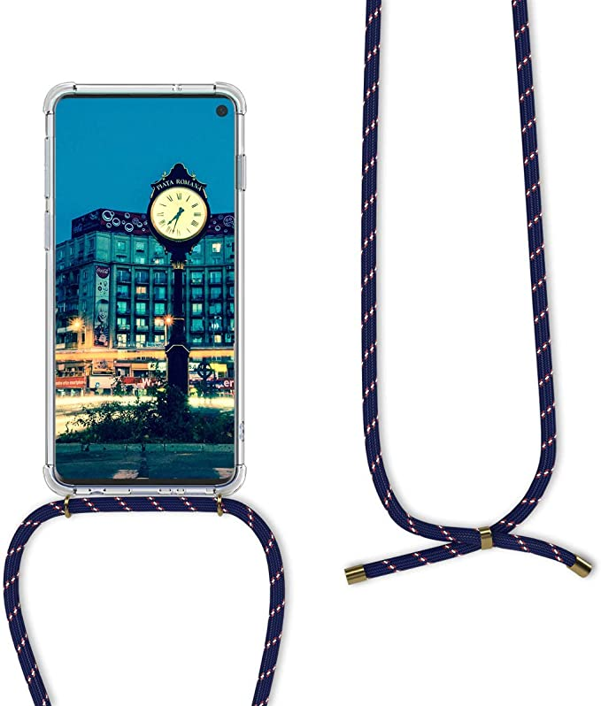 COCASES Phone Lanyard Neck Strap 6.1 INCH Clear Phone Case for iPhone 11 Crossbody Retractable Lanyard with Phone Card Holder Double Slots Transparent TPU Mobile Phone Cover