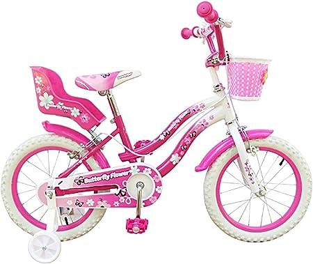 510149 Bicicleta BUTTERFLY FLOWER tamaño 14 bicicletas para niñas ...
