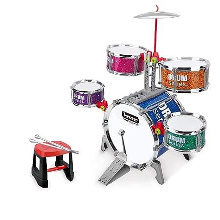 LINGLING-Tamburo Drums Ragazzi Musical Toys principianti Strumenti