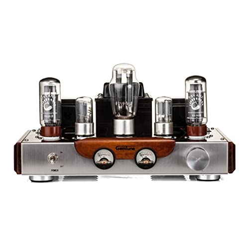 GemTune GS-01 Class A Integrated Hi-Fi Tube Amplifier with Tubes, EL34BX2