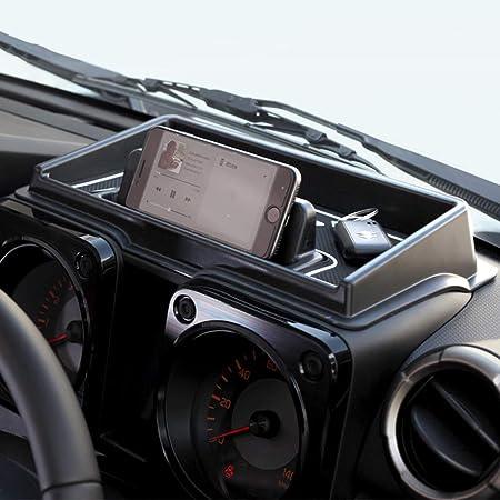 Lfotpp Jimny Sierra Jb64 Jb74 Auto Instrumententafel Aufbewahrungsbox Veranstalter Telefon Halter Mittelkonsole Veranstalter Weiß Auto