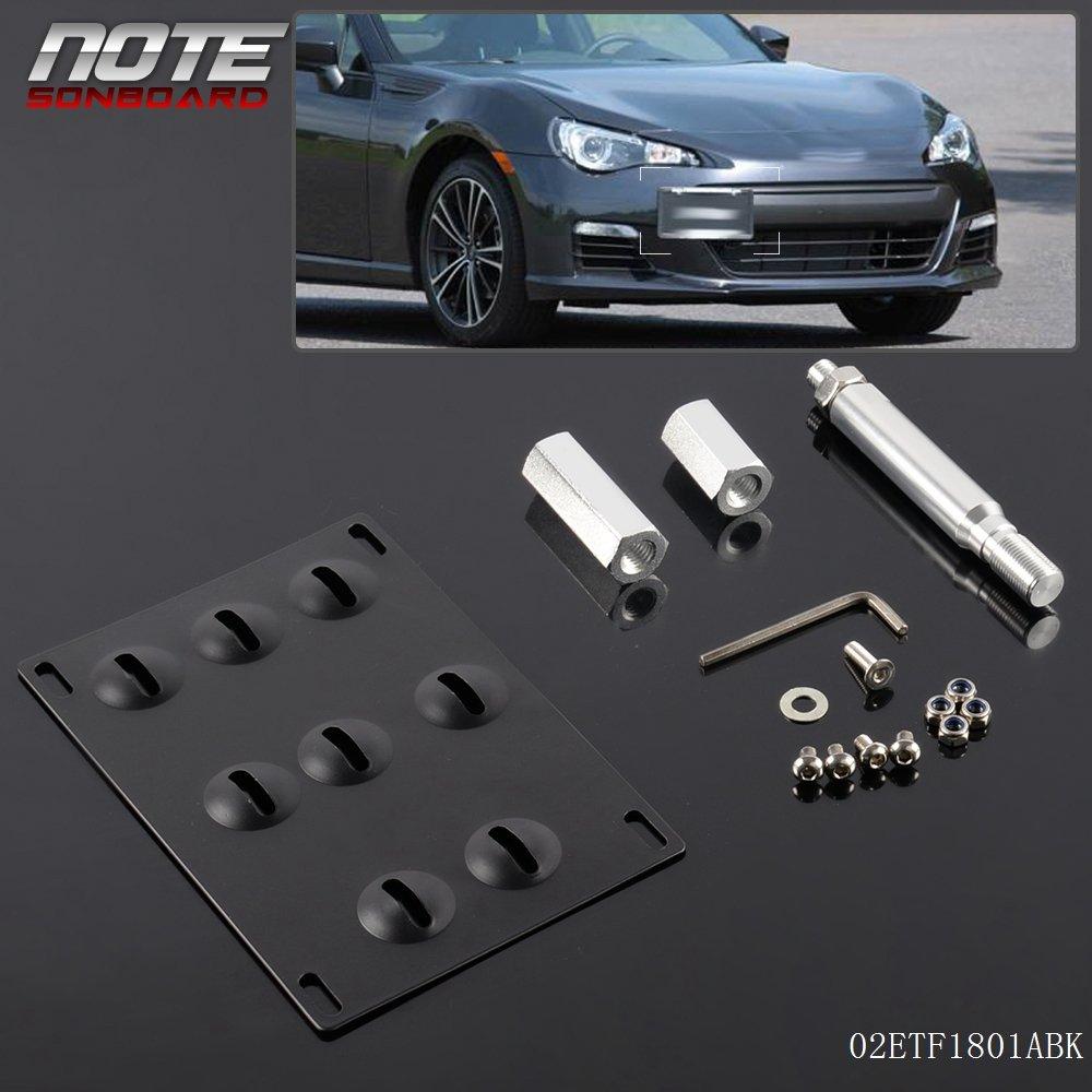 Front License Plate Tow Hook Mount Adaptor Bracket FT86 For 2013-Up Scion FR-S Speedmotor