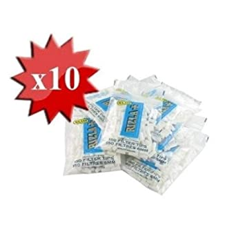 Filtros Rizla Slim + x 10 bolsas: Amazon.es: Hogar