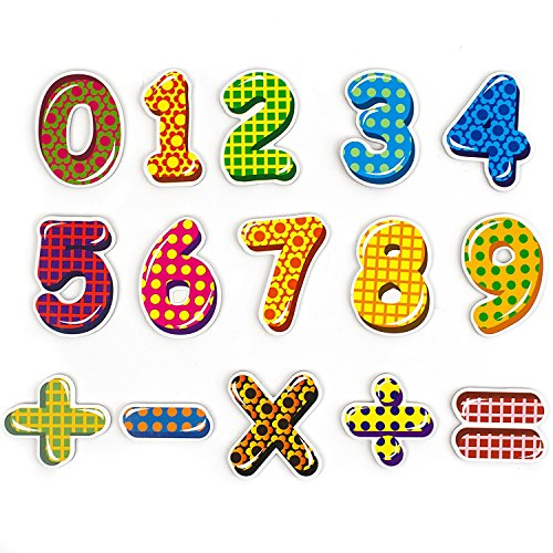 Top Rated Products Jumbo Magnetic Numbers - Number Fridge Magnet - Numbers 123, Arithmetic Piece - Kid Education Fun Toy Set Symbol Learning # 1 ()