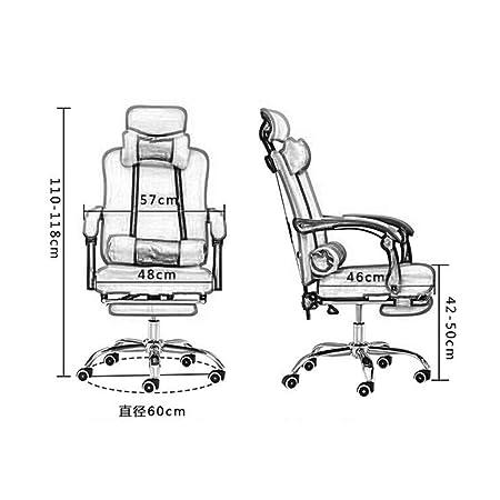Executive Office Computer Chair Mesh Seats Highs Back Ergonomic Adjustable UK