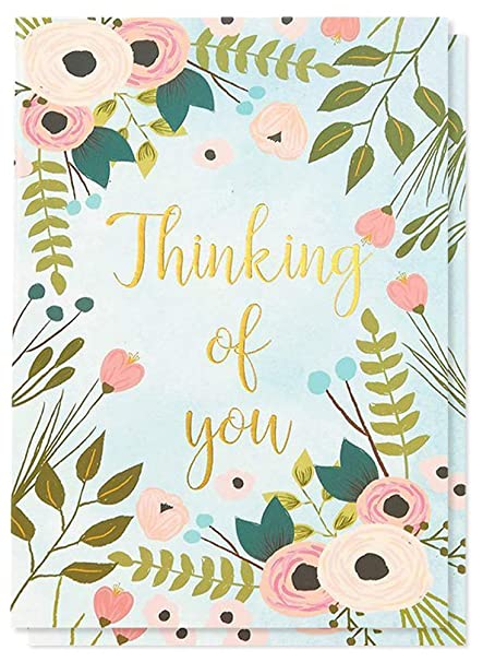48 Pack Thinking Of You Note Cards