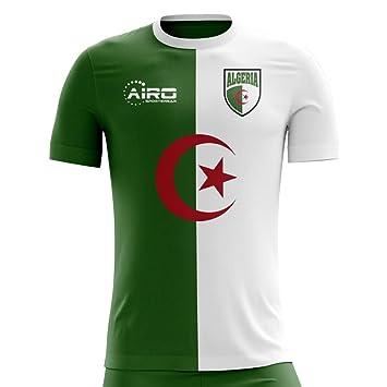 a4d142ec8 Airo Sportswear 2018-2019 Algeria Home Concept Football Soccer T-Shirt:  Amazon.co.uk: Sports & Outdoors