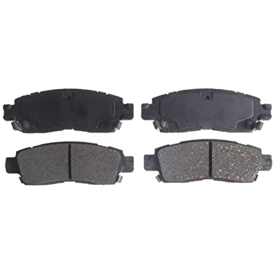 ACDelco 14D883CH Advantage Ceramic Rear Disc Brake Pad Set with Hardware: Automotive