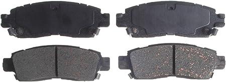 Disc Brake Pad Set-Ceramic Disc Brake Pad Rear ACDelco Advantage 14D834CH