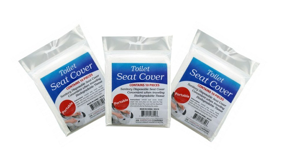 Travel Disposable Toilet Seat Covers 3pack Kole Imports
