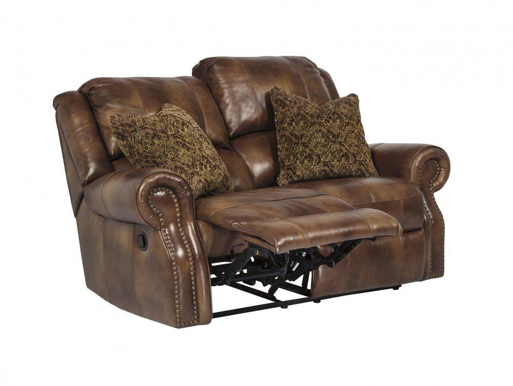 Amazon.com Ashley Furniture Signature Design - Walworth Recliner Loveseat with 2 Pillows - Pull Tab Manual Reclining - Auburn Kitchen u0026 Dining  sc 1 st  Amazon.com & Amazon.com: Ashley Furniture Signature Design - Walworth Recliner ... islam-shia.org