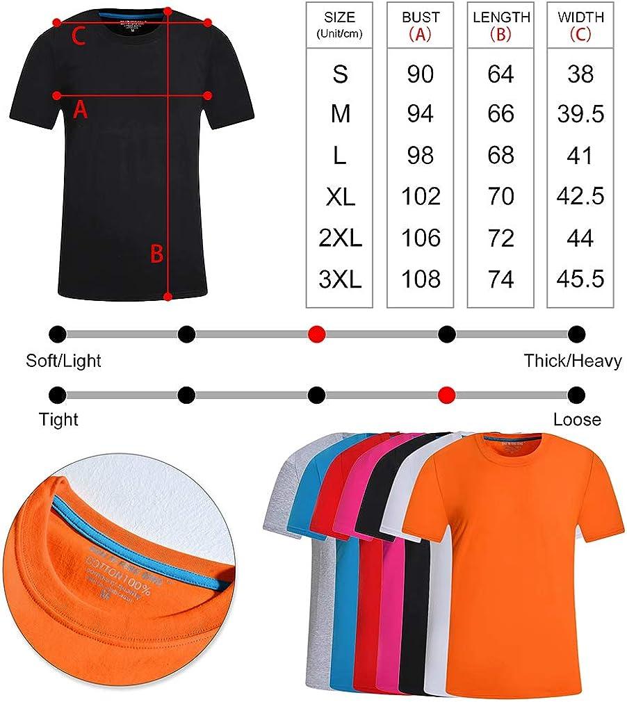 Custom4U, Maglietta Personalizzata, con Foto Personalizzata, Regalo di Compleanno per Uomini, Donne, Ragazzi, Taglie S/M/L/XL/XXL/XXXL, 13 Colori Viola