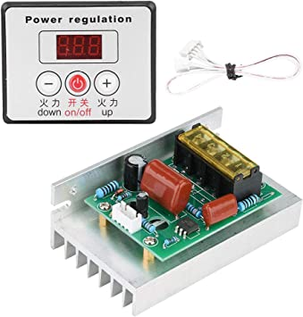 SCR Regulador de voltaje digital 6000W Motor eléctrico Control de ...