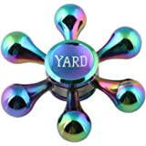 YARD指先のこま銅材質Hand Finger Spinnerハンドスピナー子供と大人人気のおもちゃ … (赤)