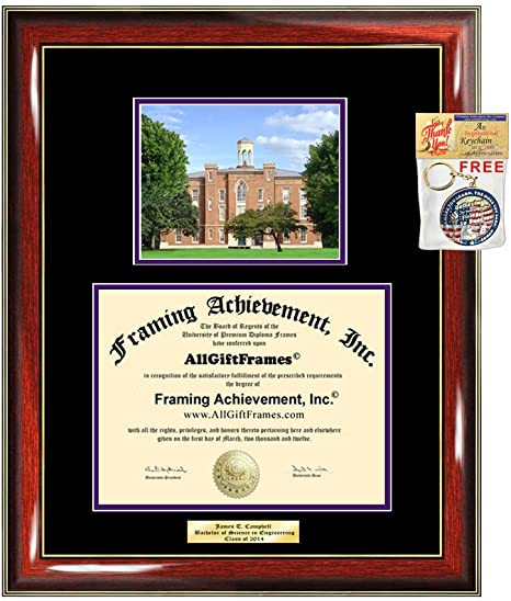 Amazon Com Diploma Frame Knox College Graduation Gift Idea Engraved Picture Frames Engraving Degree Large Cheap Graduate Bachelor Masters Mba Phd Doctorate School