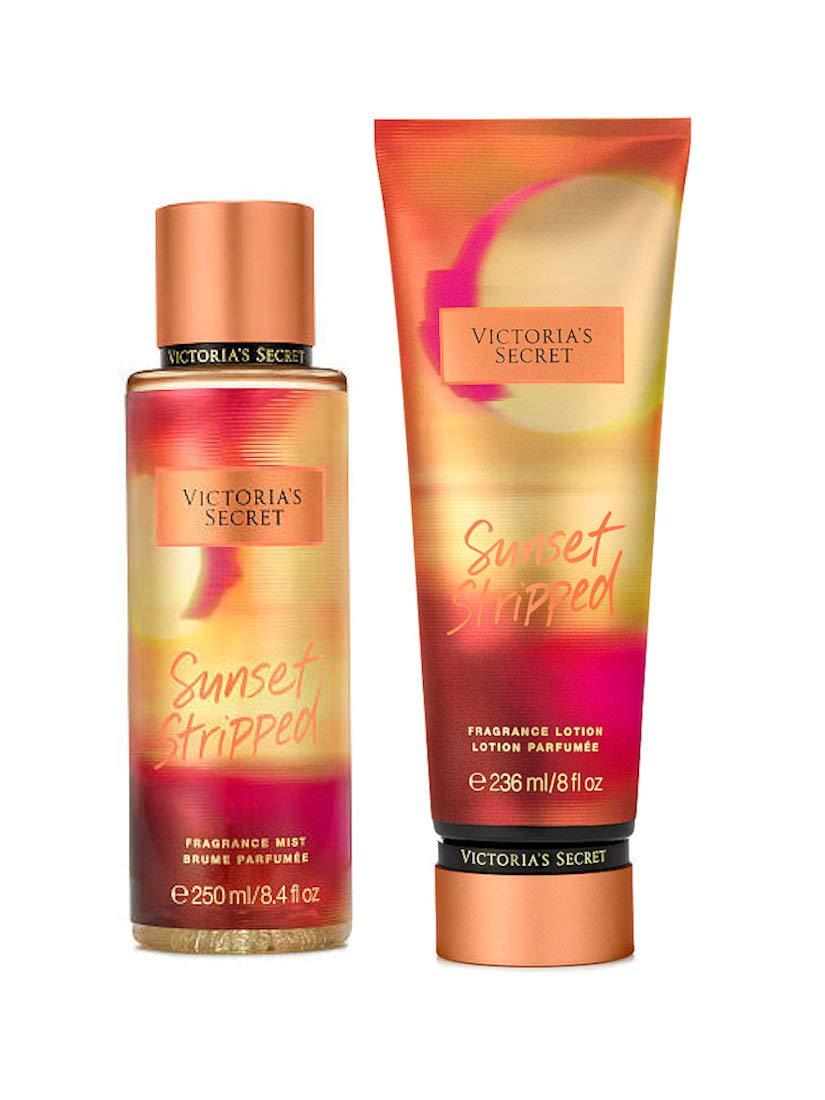 acb0fe24ce Amazon.com   Victorias Secret Fragrance Body Lotion and Body Mist Set  Sunset Stripped   Beauty