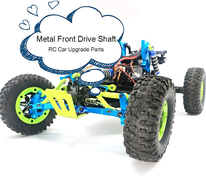 RC Front Drive Shaft Rear Dog Bone for WLtoys 144001 1//14 RC Car Accessories