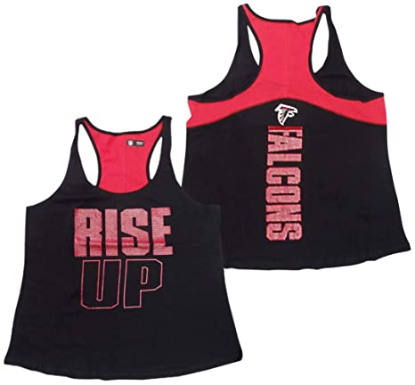 quality design 760c7 5c0db Amazon.com : 5th & Ocean Atlanta Falcons Womens Two-Tone ...