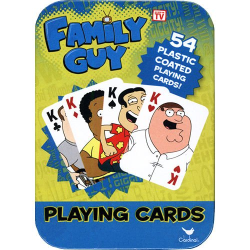 Family Guy Playing Cards in Tin