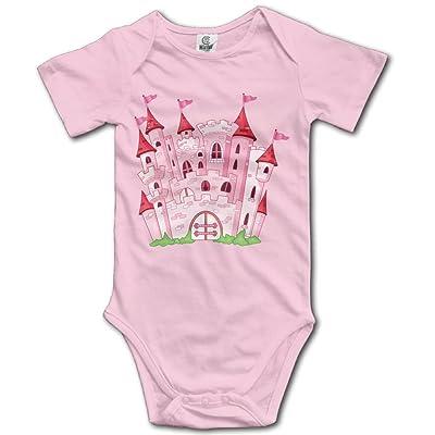 Jaylon Baby Climbing Clothes Romper Cartoon House Infant Playsuit Bodysuit Creeper Onesies Pink