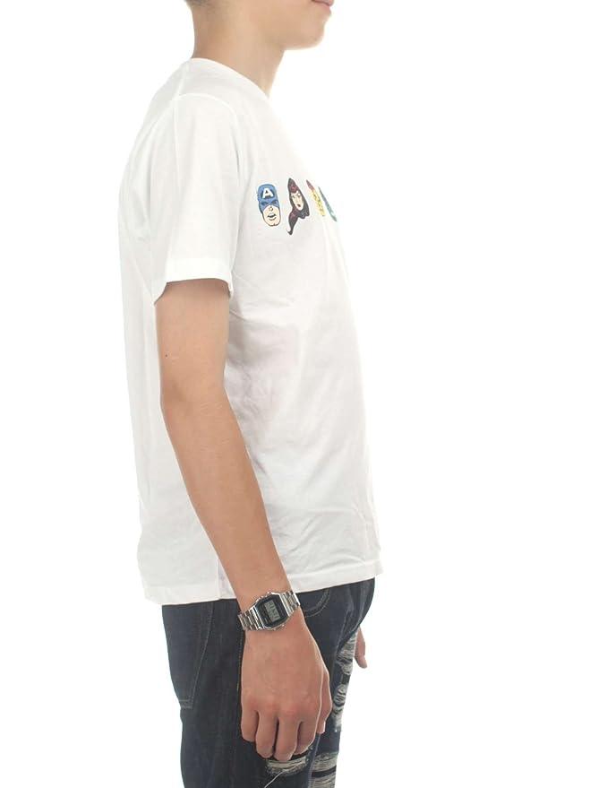 Vans VA3HUXWHT Camiseta Niño Blanco XL: Amazon.es: Ropa y accesorios