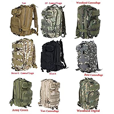 Neewer Comfortable Waterproof Assault Pack Tactical Backpack Molle Bag