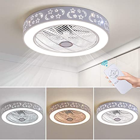 72w Led Ceiling Fans Modern Ceiling Light With Fan Remote Control