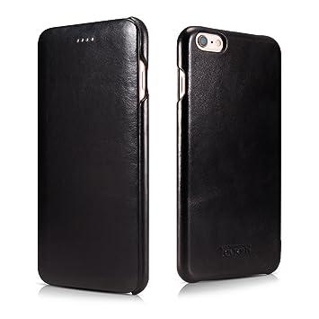 iphone 6 plus leather case black