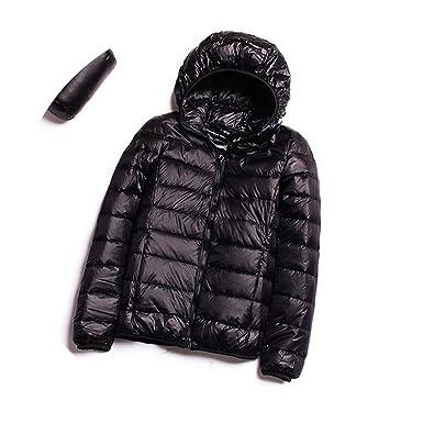 a77b4d4a7 Amazon.com: Winter Women Ultra Light Down Coat 90% White Duck Down ...