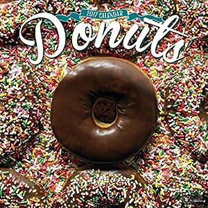 2017 Donuts Wall Calendar