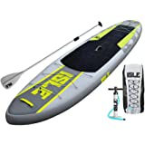 "ISLE Airtech Inflatable 11' Explorer Stand Up Paddle Board (6"" Thick) iSUP Package 