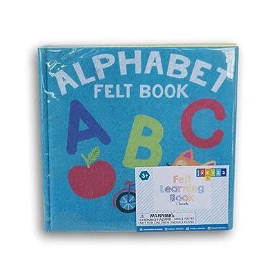Horizon Alphabet Felt Busy Book for Grade K - 8'' x 8'': Toys & Games