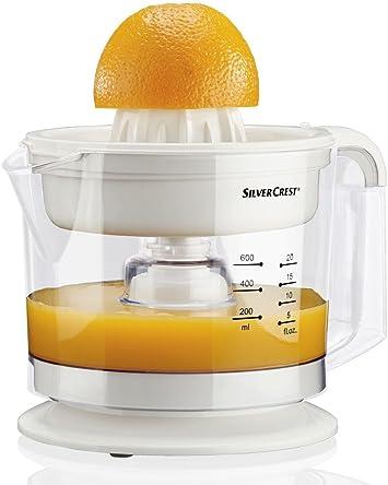 Exprimidor de Naranjas, zumos Naturales, SilverCrest: Amazon.es: Hogar